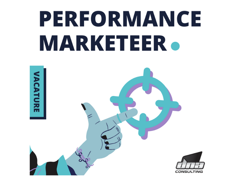 Vacature 'Performance Marketeer'